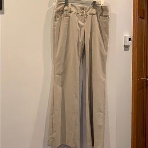 The Limited beige trousers